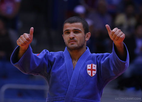 Грузинский дзюдоист Амиран Папинашвили стал победителем турнира «Большой Шлем»