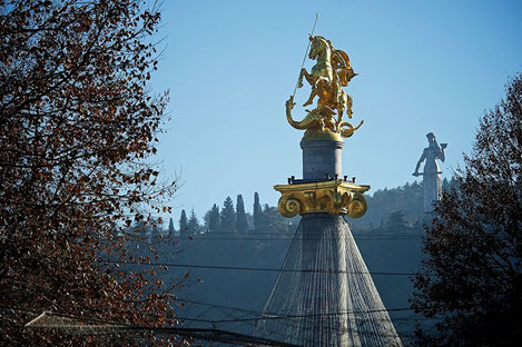 Грузия отмечает праздник «Гиоргоба» – день святого Георгия