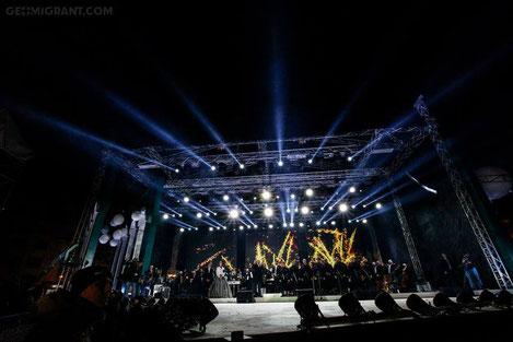 Грузия встретила новый 2016 год грандиозным гала концертом