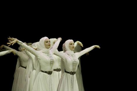 Чеченский ансамбль «Вайнах» выступит в Тбилиси
