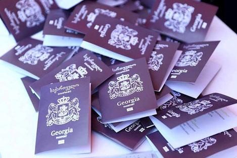 Граждане Грузии проживающие за рубежом могут бесплатно получить биометрический загранпаспорт