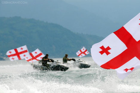 76% грузин готовы воевать за свою родину