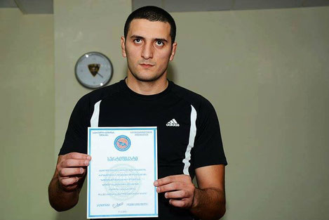 Грузинский полицейский  установил новый мировой рекорд