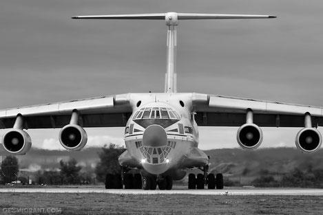 В Турции нашелся забытый Грузинский Ил-76