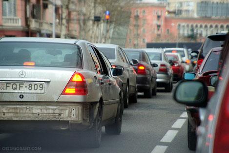 С 1 января МВД Грузии вводит новые транзитные номера