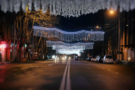Новогодняя столица Грузии...
