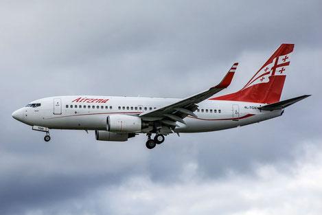 «Airzena Georgian Airways» получила разрешение на полеты в страны Евросоюза