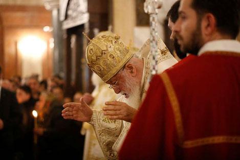 Патриарх Грузии Илия II: «Россия должна освободить наши территории!»