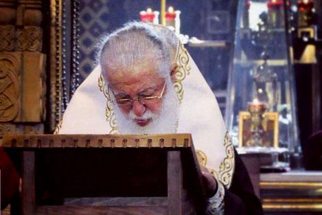 Илия II: «Все проживающие в России грузины хотят вернуться на родину»