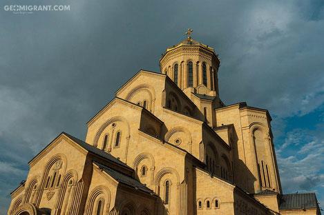 Бидзина Иванишвили профинансировал роспись храма Пресвятой Троицы «Самеба»