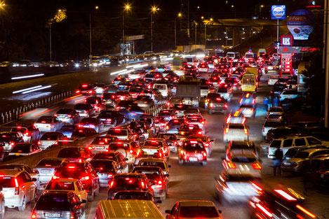 Количество автомобилей в Грузии растет с необыкновенной скоростью