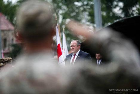 Президент: «Грузия внесла большой вклад в величайшую победу человечества над злом»