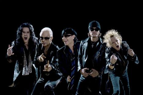Легендарная группа «Scorpions» выступит сегодня на «Black Sea Arena»