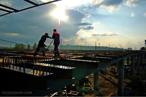 В Грузии началось строительство мостов в направлении Российской Федерации