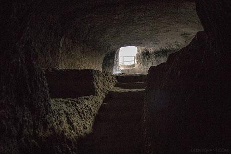 В Грузинском скальном городе «Вардзиа» обнаружено несколько новых помещений