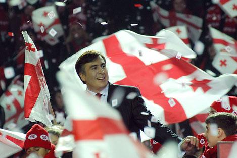 Михаил Саакашвили празднует юбилей
