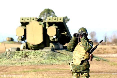 Российские военные базы а Абхазии и Южной Осетии приведены в боевую готовность