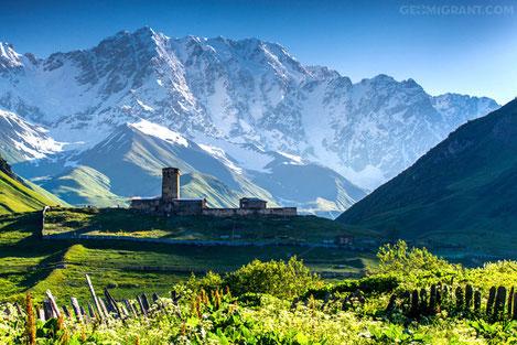 Колыбель горных громад, краса Грузии - Сванетия