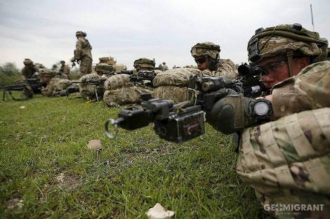 НАТО опубликовало видео об учениях с армией Грузии