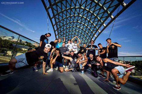 В Тбилиси прошел Чемпионат Восточной Европы по «Брейк Дансу»
