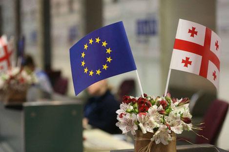 МИД Грузии работает в особом режиме в связи с началом безвизового режима с Европой
