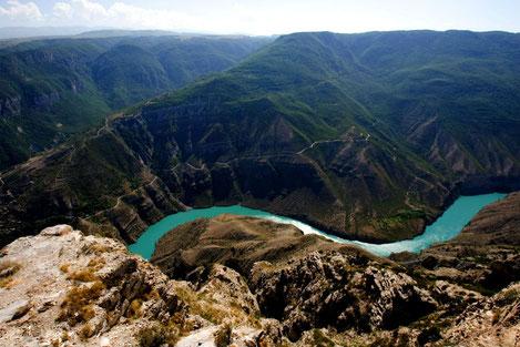 Самые большие реки Грузии