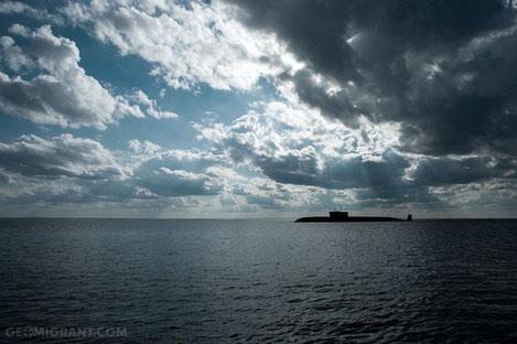 Российские подводные лодки у берегов Грузии
