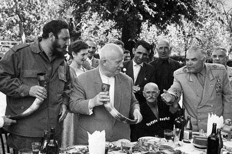 Никита Хрущев: «С грузинской приправой можно и гвозди кушать»