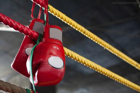 Грузинский боец Николоз Бегадзе стал чемпионом Европы по боксу