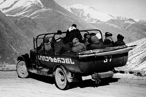Автомобили времен СССР, выпускаемые в Грузии