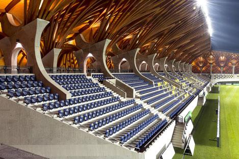 В Зугдиди началось строительство стадиона III категории УЕФА