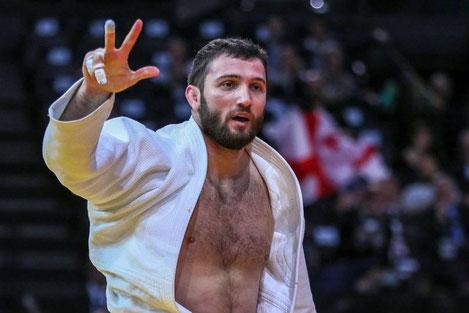 В десятку лучших дзюдоистов мира попали пять членов сборной Грузии