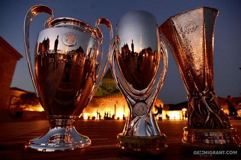 Цепочка из тысячи детей из девяти стран выступит символом дружбы на открытии Суперкубка УЕФА
