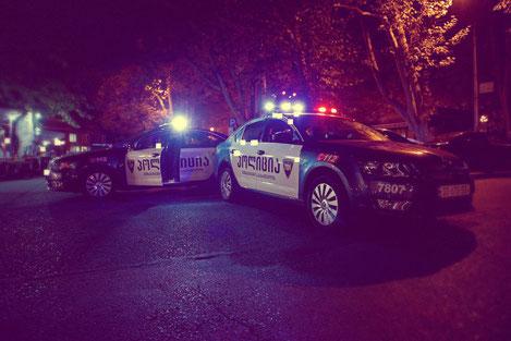 Патрульная полиция Грузии пересядет на гибридные автомобили