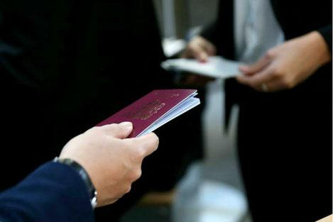 Почему грузинский паспорт красный?