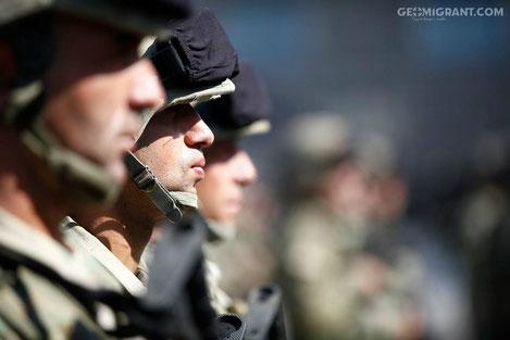 Минобороны Грузии приспустило флаги из за гибели солдата в Афганистане