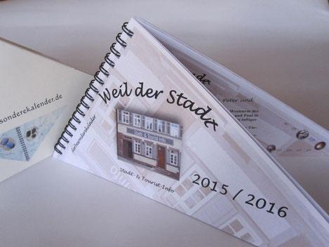 Ein besonderer Kalender mit individueller Gestaltung