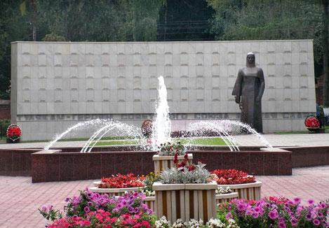 Памятник тулякам - Героям Советского Союза