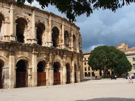 Südfassade der Arenés