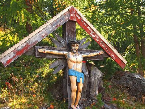 ..willst Du Gottes Allmacht sehn, mußt Du in die Berge gehn...