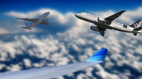 Flugzeuge Umwelt ökologischer Fußabdruck Fernreise
