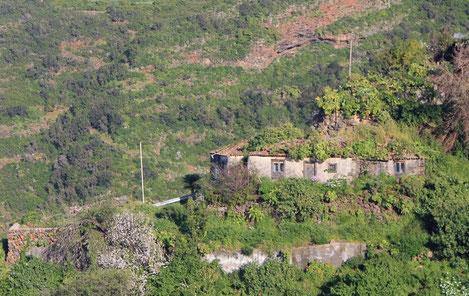 Casa terrera canaria en Gallegos
