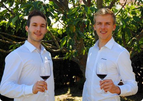 Kocher Christoph, Baumgärtner Patrick, argentinischer Wein