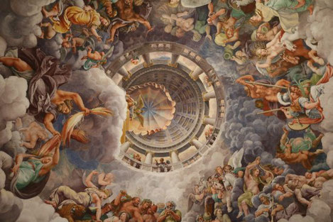"""Giulio Romano, """"La caduta dei giganti"""" (1532-1535)"""