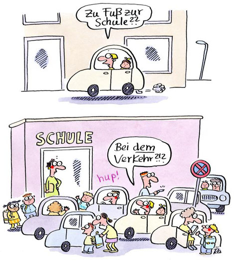 """Renate Alf, """"Die besten Cartoons für Lehrer*innen"""", Lappan Verlag 2021"""