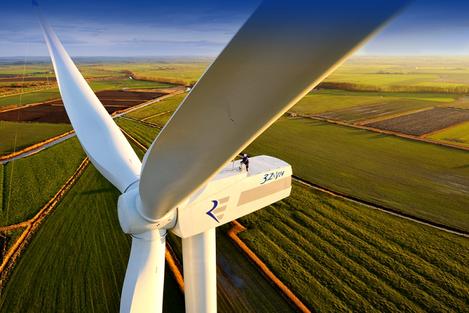 В Грузии построена первая ветряная электростанция