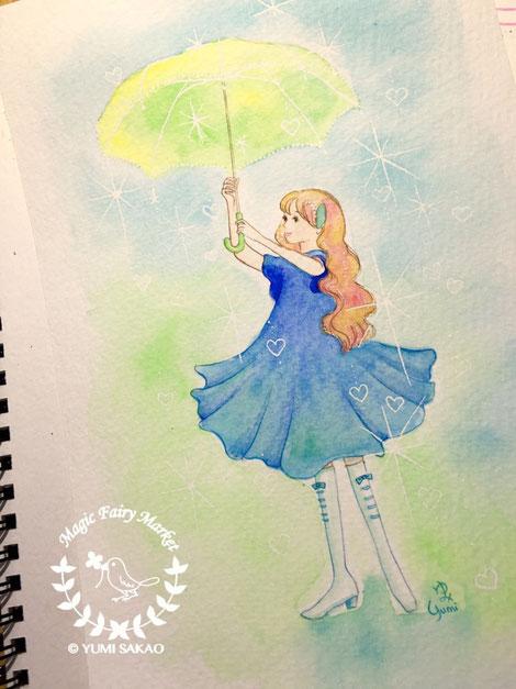 傘魔女リブラ