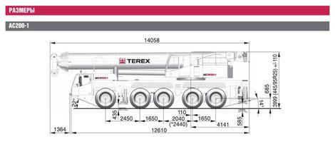 автокран 200 тонн в санкт-петербурге