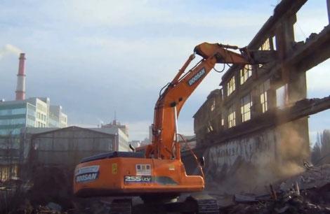 снос и демонтаж зданий спб