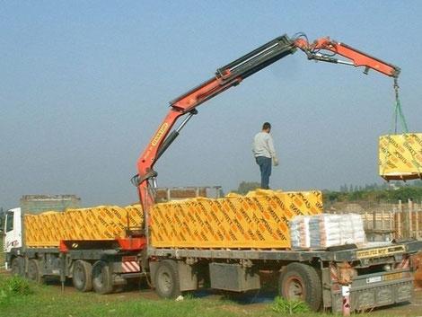 перевозка стройматериалов